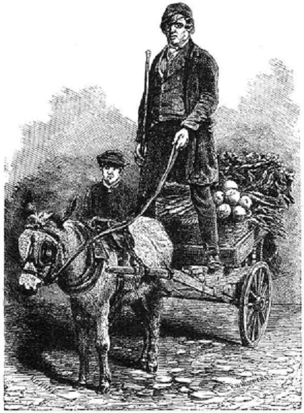 Picture of costermonger with cart